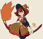 [Commission] Little witch [Goltten]