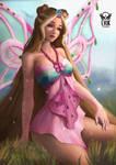 [FANART] Flora, The fairy of Nature [Sahlarei]