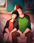 [Commission] FNF: Little rest [Evokstudios]