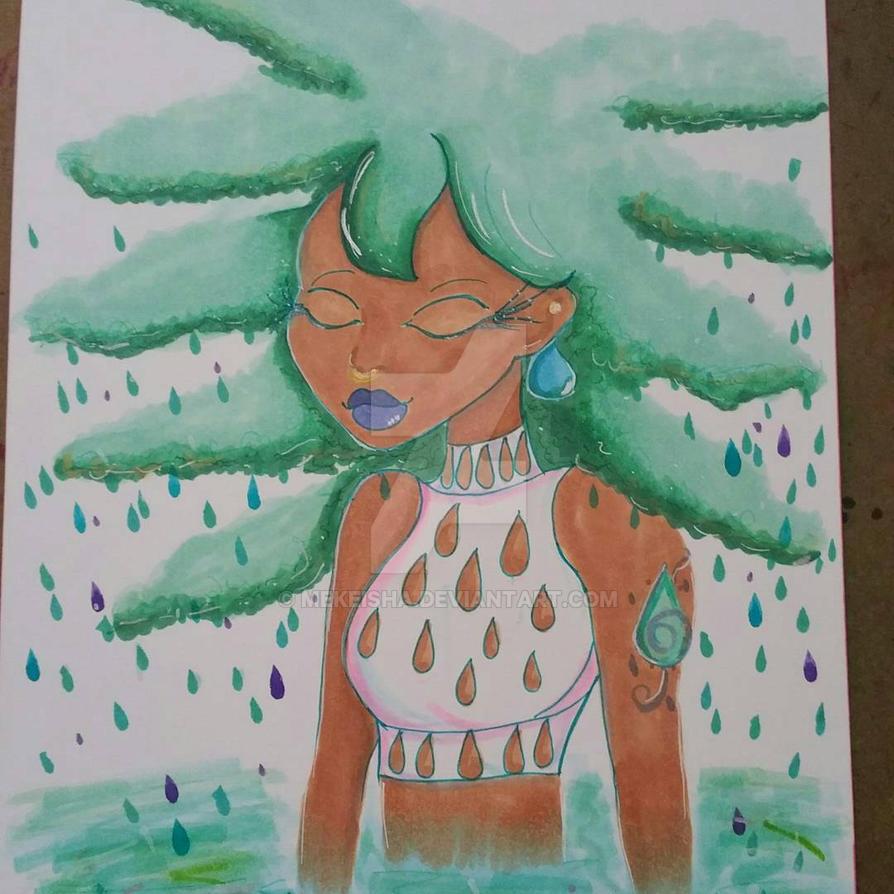 Raindrops  by Mekeisha