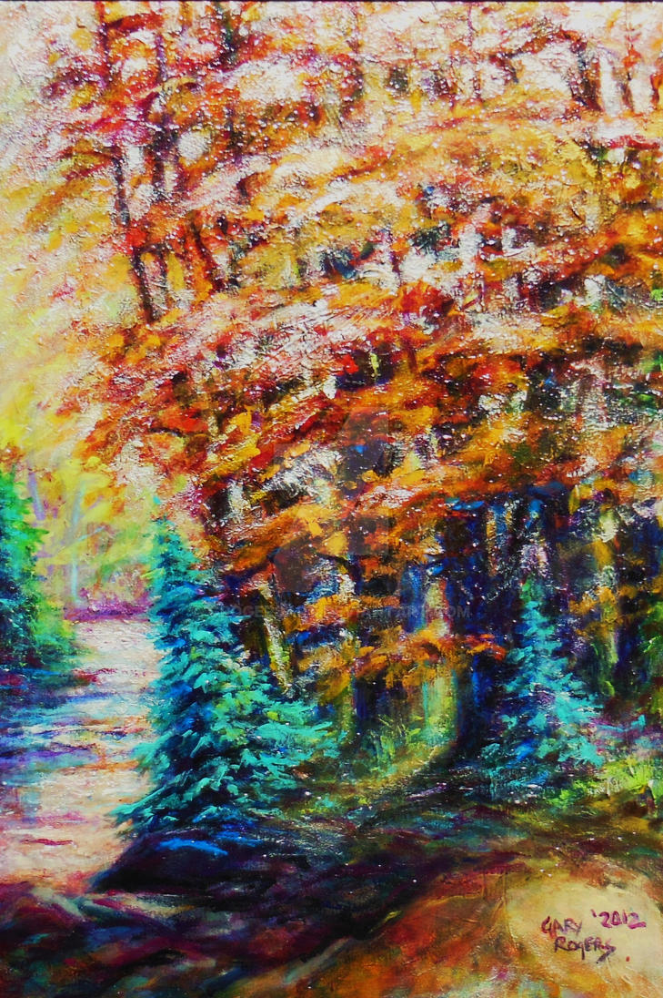 October Rain by grogersart