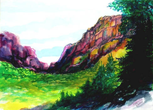 Painted Canyon