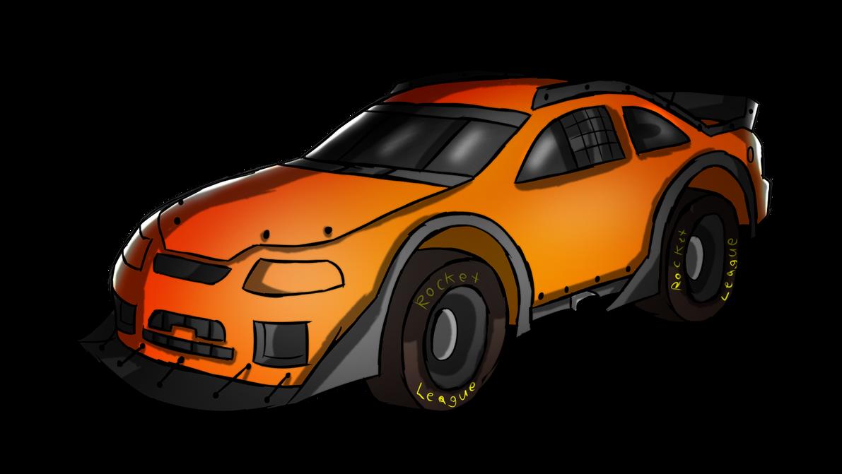 Rocket League Stock Car Front View by FoxiFyer on DeviantArt