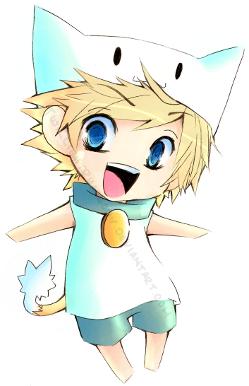 Chibi Neko Roxas by TwillightRhapsody on DeviantArt