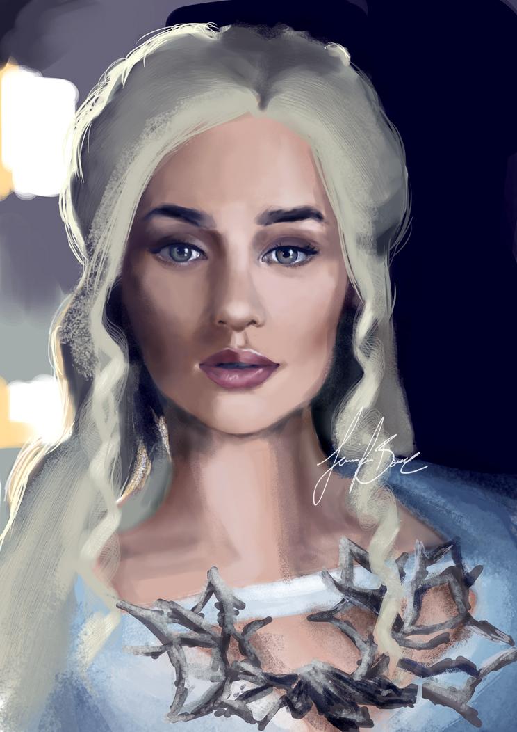 Daenerys Targaryen by KuekenEnelya
