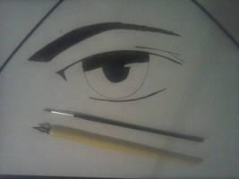 An Anime Eye by seth-ravenclaw