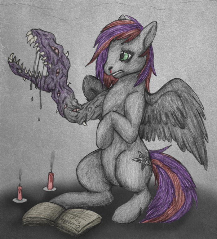 My Little Creepy Pony by AK71