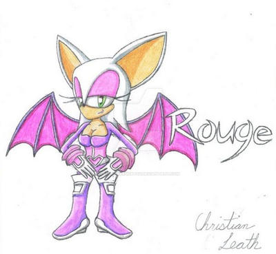 Rouge the Bat by LazerGyakusatsu