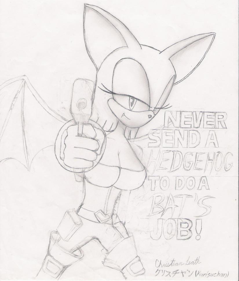 A Bat's Job by LazerGyakusatsu