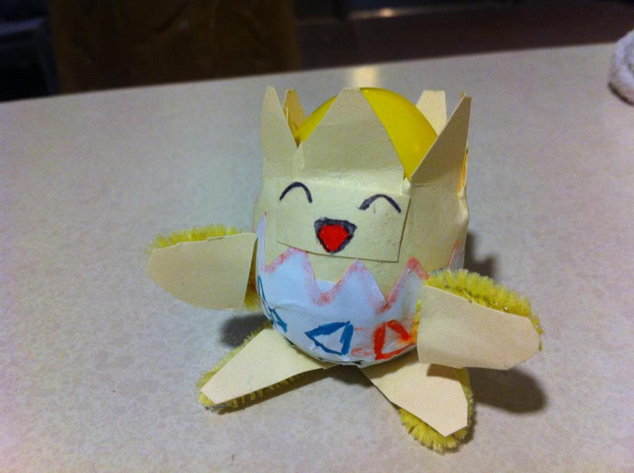 Togepi Easter Egg! by LazerGyakusatsu