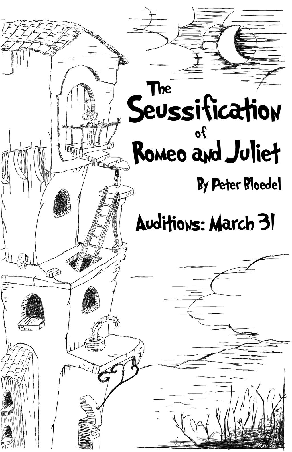 The Seussification of Romeo and Juliet Poster by rvtanner ...