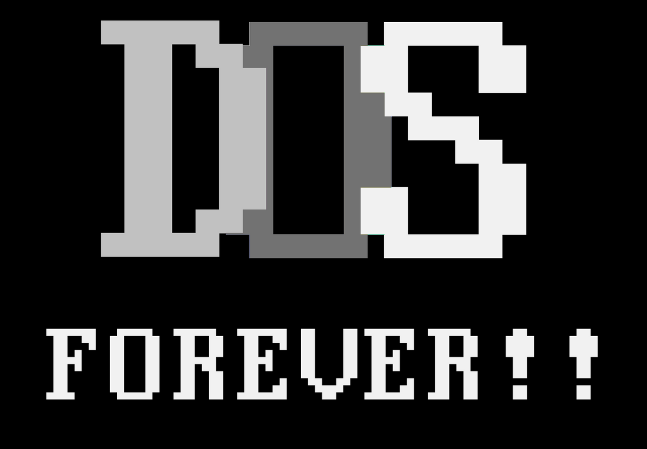 DOS Forever! by bitpusher2600