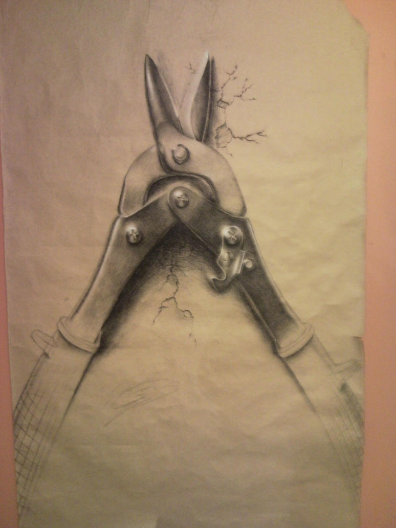 Art Project Drawing Of Tools By Pyzhou On Deviantart