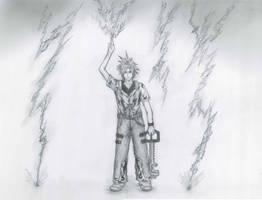 Kingdom Hearts - Thunder Guy by Orishibu