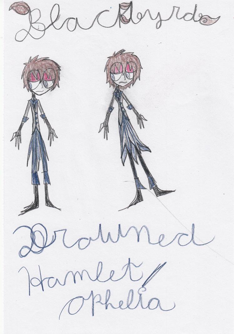 Blackbyrd as Drowned Hamlet Ophelia by ZikkaDrowned Ophelia Hamlet