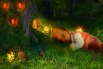 Newborn with elfes