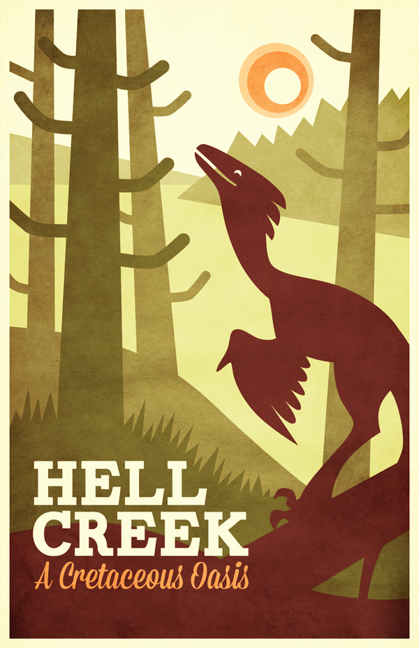 Visit Hell Creek! by pai-draws