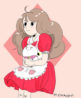 Bee and puppycat by memmemn