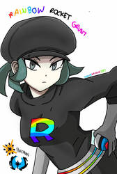 Female Rainbow Rocket Grunt