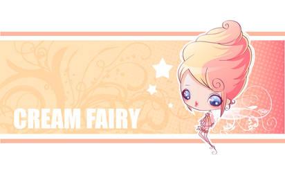 Cream Fairy Vector by maky-lab