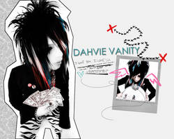Dahvie Vanity wallpaper by PRINCEcomplex