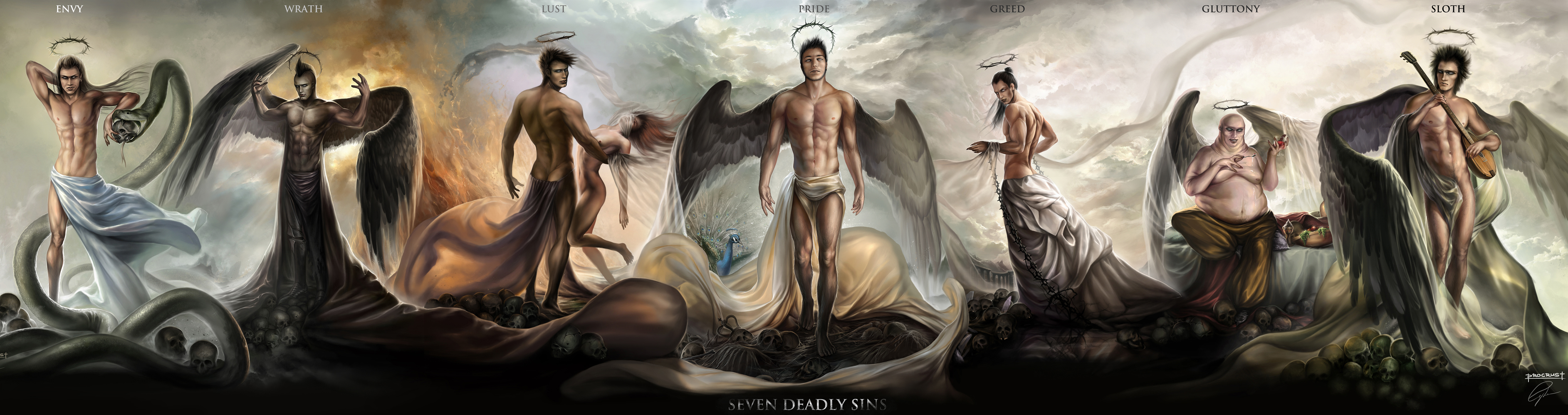 seven deadly sins and accomplishments fosters {pride} in almost every list, pride (latin, superbia), or hubris (greek), is considered the original and most serious of the seven deadly sins, and the.