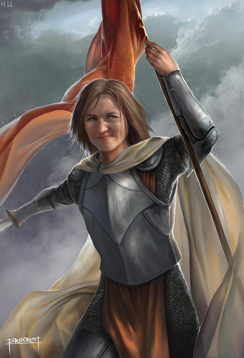 Joan of Arc by Procrust on DeviantArt