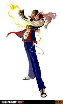 King of Fighters Redux: Shingo