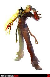 King of Fighters Redux: K' by digitalninja