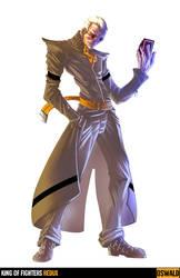 King of Fighters Redux: Oswald by digitalninja