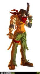 King of Fighters Redux: Ralf by digitalninja