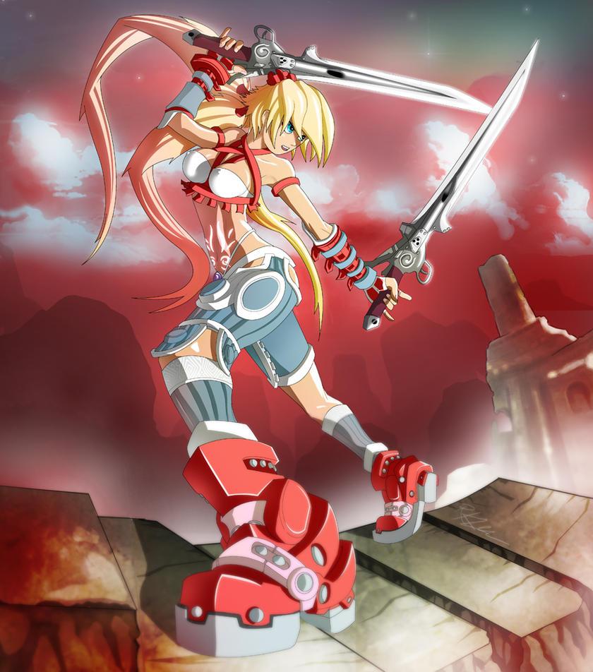 X Blades Ayumi Ayumi by digita...