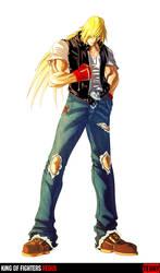 King of Fighters Redux: Terry by digitalninja