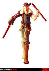 King of Fighters Redux: Billy by digitalninja