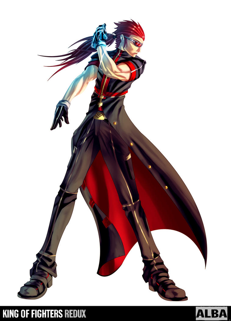 Anime Fight Characters 0 1 : King of fighters redux alba by digitalninja on deviantart