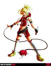 King of Fighters Redux:Malin by digitalninja