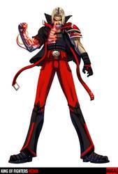 King of Fighters Redux: Rugal by digitalninja