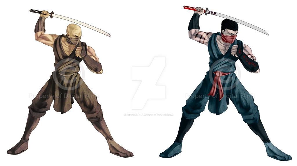 game art ninja template by digitalninja on deviantart