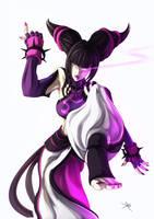 Juri Super Street Fighter 4 by digitalninja