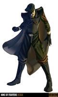 King of Fighters Redux:Heidern by digitalninja