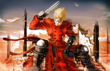 Vash the Stampede by digitalninja