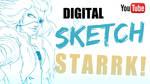 Video Tutorial: Digital Sketch - Starrk by digitalninja