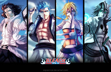 Bleach Poster 1 by digitalninja