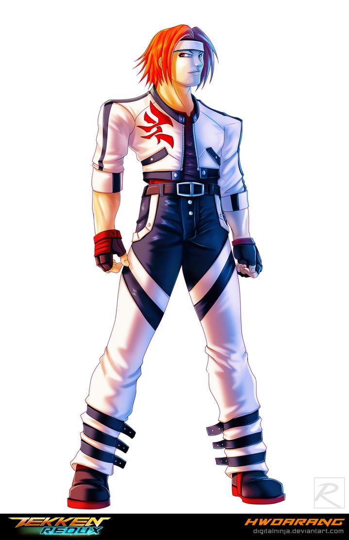 Tekken Redux: Hwoarang by digitalninja on DeviantArt
