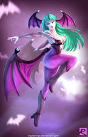Darkstalkers - Morrigan by digitalninja