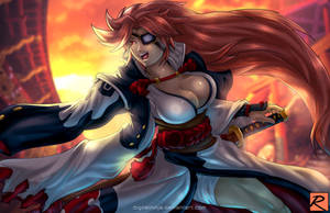 Baiken - Guilty Gear Xrd Rev 2 by digitalninja