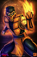 Scorpion - Mortal Kombat by digitalninja