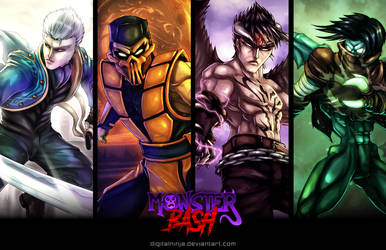Monster Bash - Poster by digitalninja