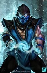 Sub Zero - Mortal Kombat by digitalninja
