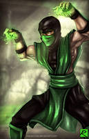 Reptile - Mortal Kombat by digitalninja